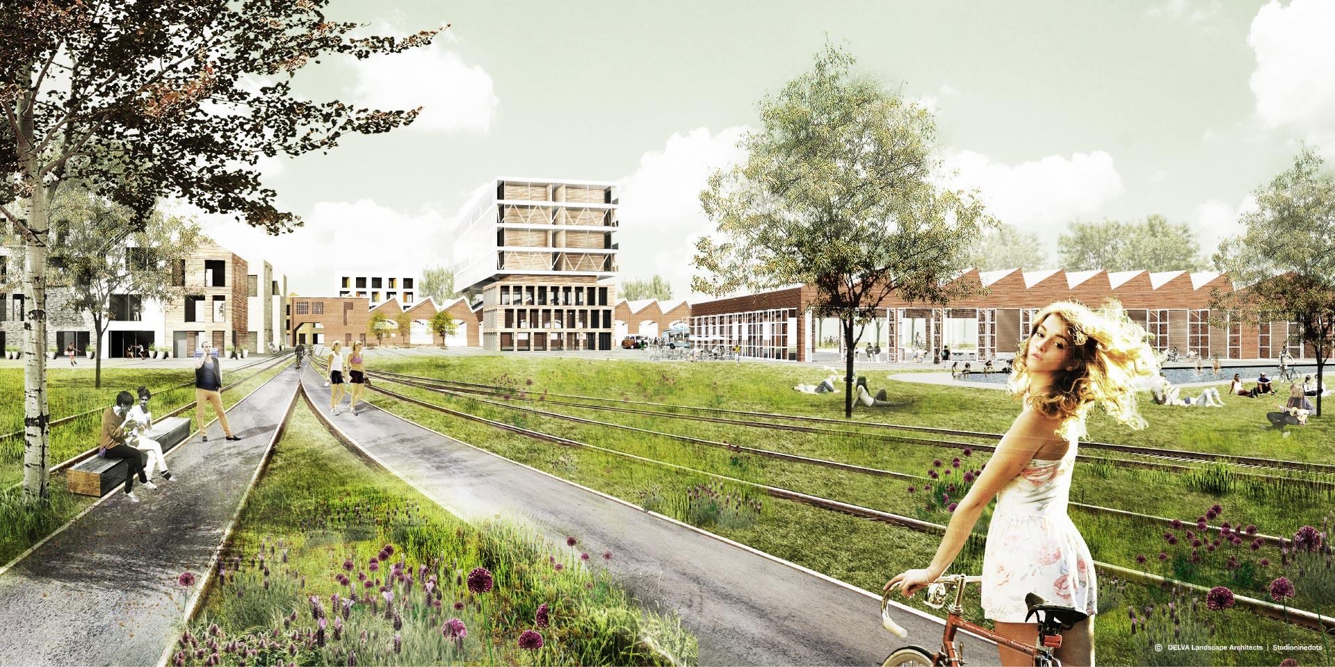 Biodiversiteit in de stad - Wisselspoor Utrecht - Synchroon Ontwikkelaars